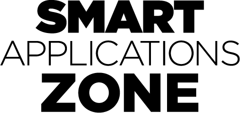 SSMART Applicationsゾーン Black ロゴ